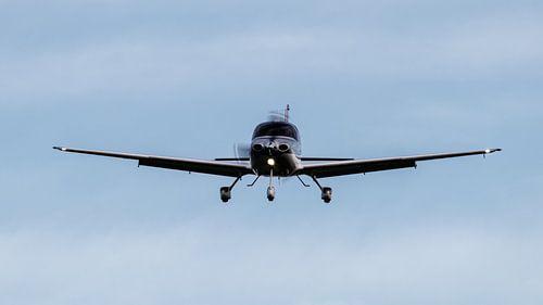 Ankommendes Flugzeug!