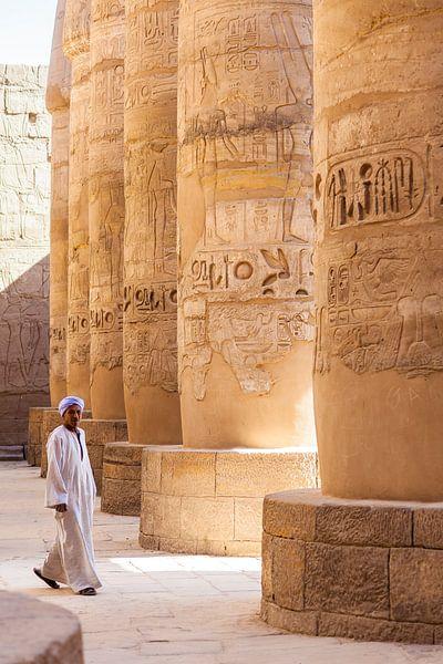 Luxor Egypte van Bart van Eijden