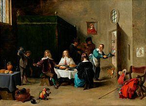 Der verlorene Sohn, David Teniers II