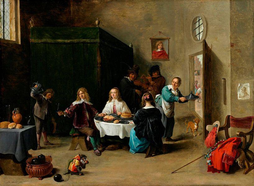 Der verlorene Sohn, David Teniers II von Meesterlijcke Meesters