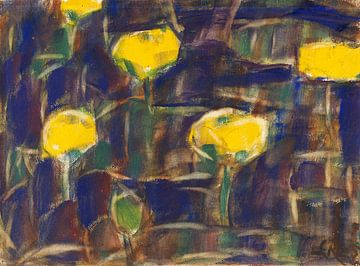 Waterlelies, Christian Rohlfs, 1925