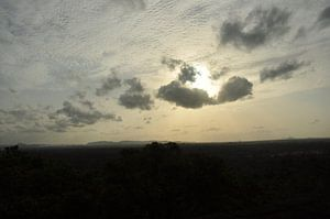 De mooie lucht van Sri Lanka van