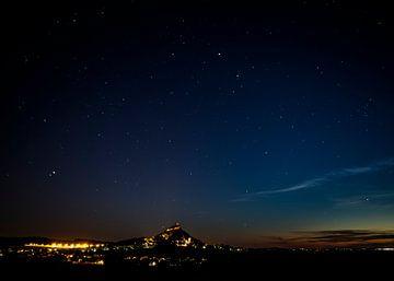 Staatzer Berg bei Nacht von Elke Wolfbeisser