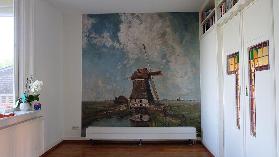 Kundenfoto: Eine Mühle auf einem Polderkanal - Paul Joseph Constantin Gabriël