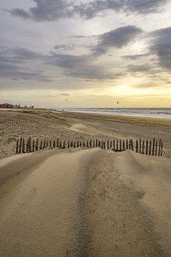 Strand, wind en zee van Dirk van Egmond