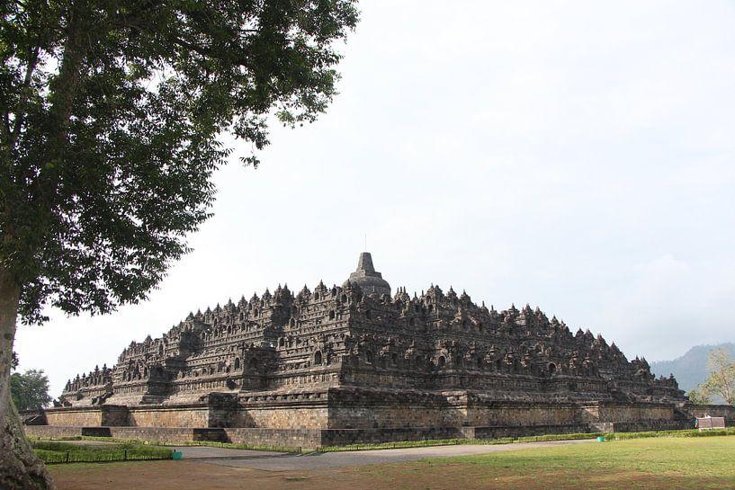 Borobudur - Yogjakarta, Java, Indonesië van Stefan Speelberg