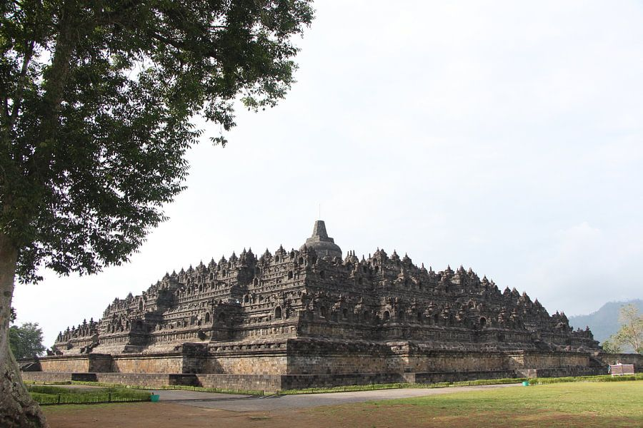 Borobudur - Yogjakarta, Java, Indonesië