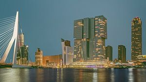 Rotterdam Rijnhaven nachtfotografie