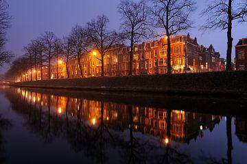 Catharijnesingel in Utrecht tussen de Martinusbrug en de Schroeder van der Kolkstraat (zonder bus) van