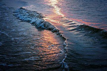 Sonnenuntergang Vlieland von Martin Rijpstra