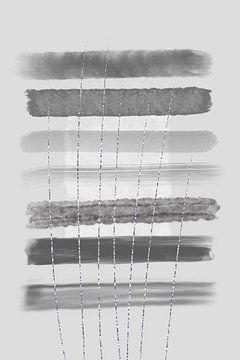 Abstrakte Malerei Nr. 13 - Klarheit von Melanie Viola