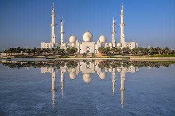 Grote Moskee Abu Dhabi van Achim Thomae