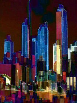 35. Stadtkunst, Abstrakt, Stadt O. von Alies werk