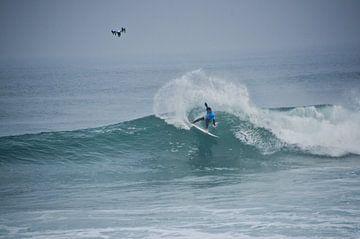 Surfwedstrijd Peniche van Marieke van der Hoek-Vijfvinkel