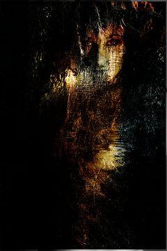Gezicht van een vrouw en body van Abra van Vossen