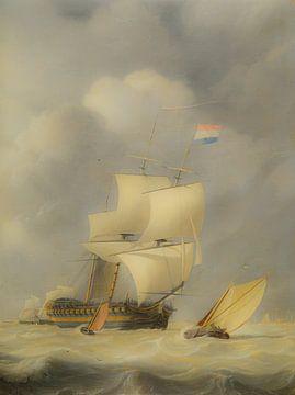 drie schepen oude meesters van Geertjan Plooijer