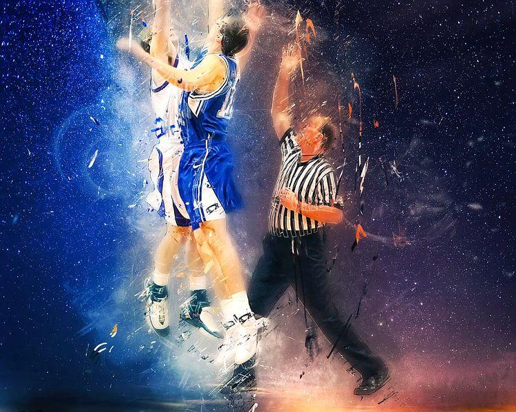 basketbal van Peter Roder