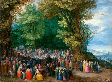 Die Bergpredigt, Jan Brueghel de Oude
