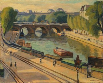 Samuel Halpert-Neue Brücke