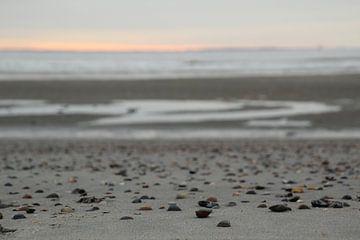 Muschel Strand von Esther Leijten-Kupers