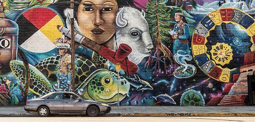 Los Angeles - Mural painting