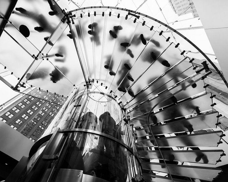 New York Apple Store van René Schotanus