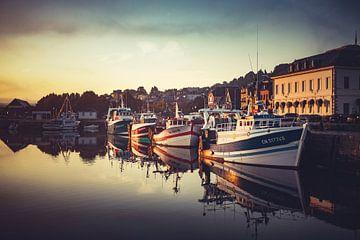 Honfleur Vissershaven von Rob van der Teen
