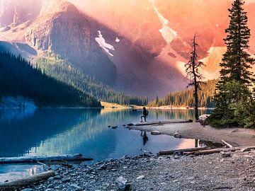 Moraine Lake, Canada BC von Henriëtte Wanders