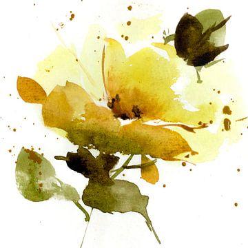 Gele roos sur annemiek groenhout