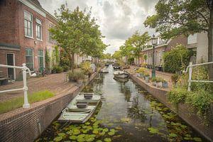 Kijfgracht Leiden, Nederland van Sander Klein Hesselink