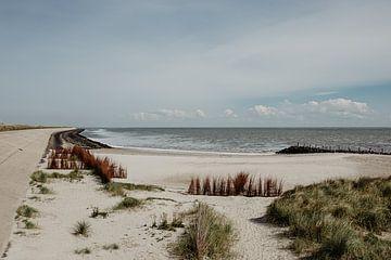 Blick auf Texel an der Nordsee von Ditta van Gent