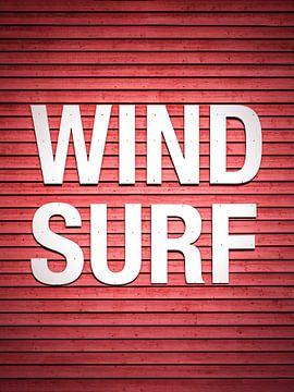 windsurfen van Florian Kunde