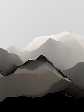 Wunderschöne Berge 14 von Angel Estevez