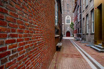 Innenstadt mit der Tür der St. Martinskirche