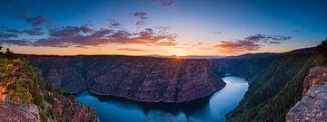 Sonnenaufgang an der Schlucht von Denis Feiner