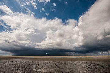 Onweer boven de Noordsvaarder von Contrast inBeeld