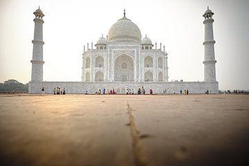 Taj Mahal bij avondlicht van Karel Ham