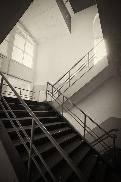 Oude ENKA-fabriek in Ede van Arthur van Iterson