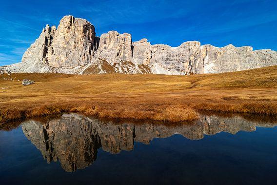 Lastoi de Formin en Lago delle Baste - Veneto - Italië