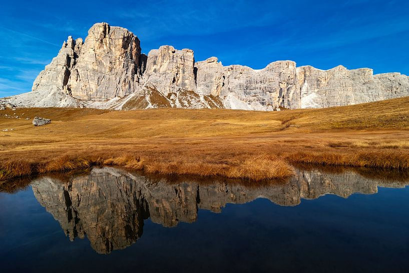 Lastoi de Formin en Lago delle Baste - Veneto - Italië van Felina Photography