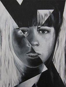 Portret van een vrouw 4
