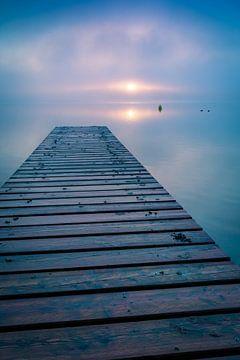 Steg am See von Martin Wasilewski