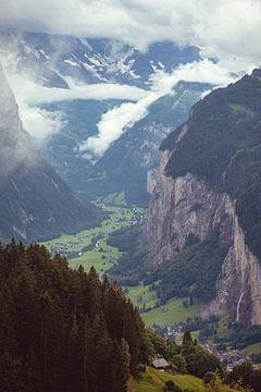 Lauterbrunnental - Jungfrau Region, Schweiz von Steven Van Aerschot