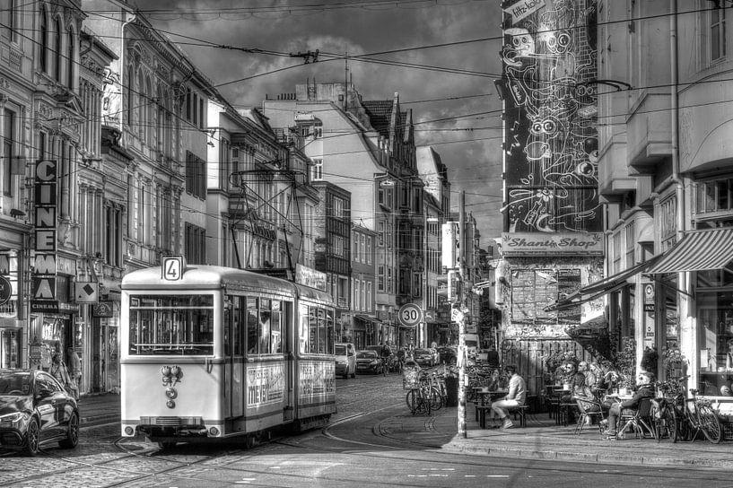 Straßenszene im Bremer Viertel von Torsten Krüger