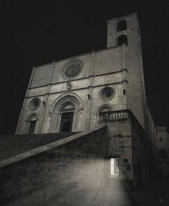 Todi, Umbrië, Italië van Borgo San Bernardo