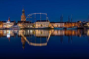 Façade de la ville de Kampen sur Fotografie Ronald