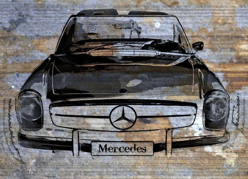 Mercedes Urban Style von Nicky`s Prints