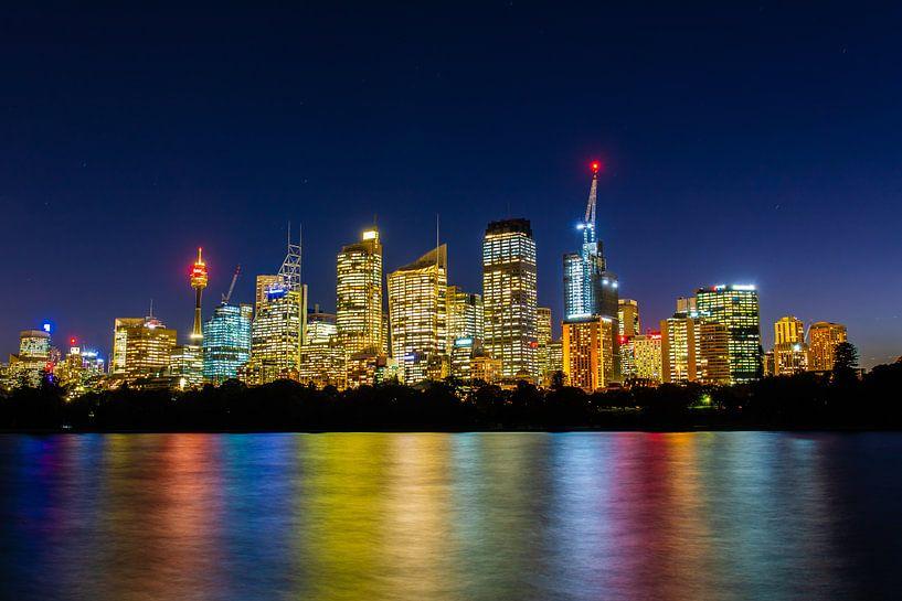 Skyline von Sydney (Sydney, Australien) von Michel van Rossum