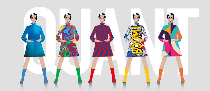 Tribute to Mary Quant van Harry Hadders
