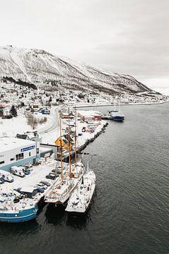 Uitzicht op Tromsø, Noors - Lapland van Henrike Schenk